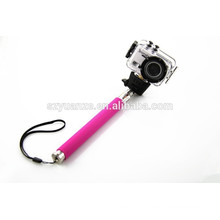 2015 hot selfie stick with bluetooth shutter button, selfie stick monopod