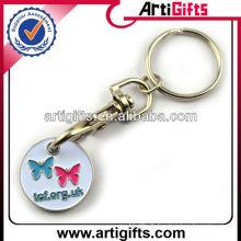 2013 Porte-clés à jetons en métal émaillé doux