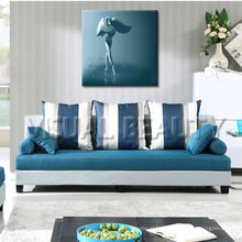 Abstract Water Ballet Girl Canvas Prints