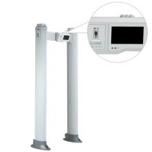 Extérieur / intérieur 100 niveaux de sécurité Détecteur de métaux portables