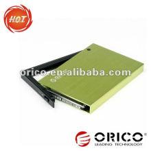 ORICO 2595US3 2.5'' sata hdd enclosure USB3.0 &e-SATA interface