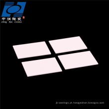 Placa de cerâmica de alumina 96 placa de cerâmica de aquecedor