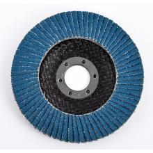 Disco plano de alúmina abrasiva de circona