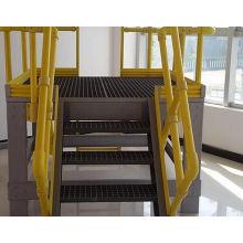FRP Barandilla / Material de construcción / Escalera de fibra de vidrio / Escalera de paso
