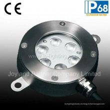 Luz subacuática de la piscina del acero inoxidable 6W LED (JP94261)