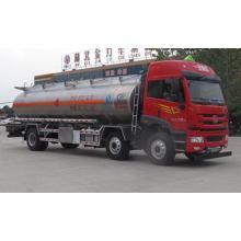 Caminhão do óleo do petroleiro da liga de alumínio de FAW 6X2