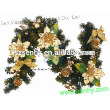 6ft Atacado PVC Artificial Christmas Garland