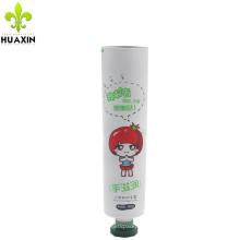 80g en aluminium stratifié paquet de tube de crème douce pour les mains cosmétiques