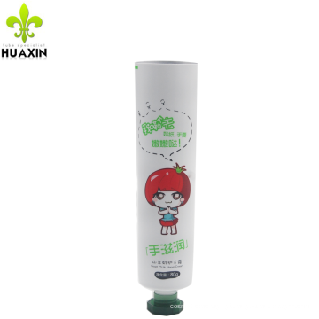 80g Aluminium laminated cosmetic soft hand cream tube package