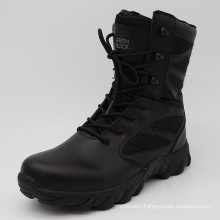 2016new Design High Quality Black Police Tactical Boots Military Boots
