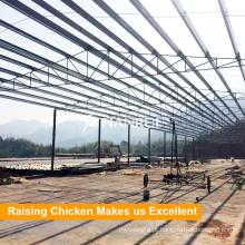 Gaiola de galinha industrial do metal do projeto de Tianrui