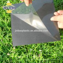 Material de álbum de fotos de hoja de pvc JINBAO material adhesivo doble 0.5mm