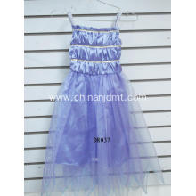 Purple spaghetti strap skirt