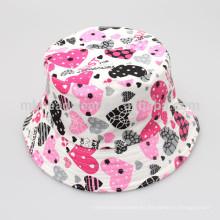 Niños Unisex Moda Venta al por mayor baratos Floral impresión Blank Bucket sombreros