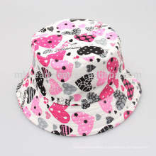 Kids Unisex Fashion Wholesale Cheap Floral Printing Blank Bucket Hats