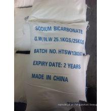 Bicarbonato de sódio do produto comestível de alta qualidade (CAS: 144-55-8)