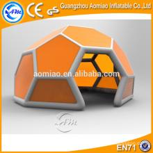 Dôme de football gonflable pour tente de globe de vente à chaud, tente de dôme de disco gonflable