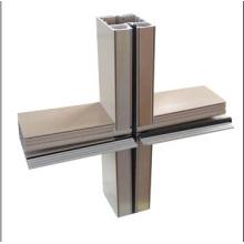 Aluminium-Extrusion für Vorhangfassade