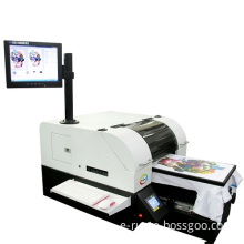 A3 SIZE DIGITAL TEXTILE PRINTER WITH COMPUTER