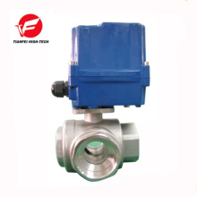 DC12V DC24V 220V SS304 DN25 DN32 CTF-010 100NM water electric valve