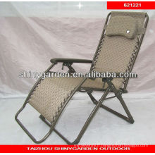 jardin relax chaise pliante en fer forgé