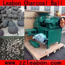 Fabrication de balles de charbon / fer de Leabon par la ligne de presse de boule de charbon de bois