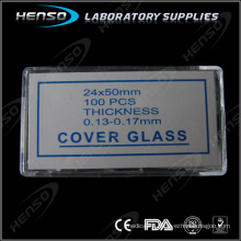 Henso laboratory cover glass