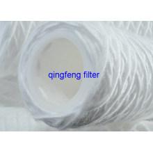 Cartucho de filtro de água ferida da corda dos PP