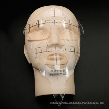 Microblading Augenbrauen Messwerkzeug Microblading Lineal