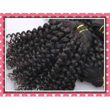 extensão de cabelo brasileiro de onda kinky para mulheres negras