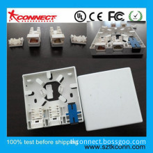 New Products 3 Port FTTH Fiber Optic Faceplate