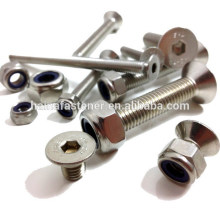 customed flat head socket countersunk bolt