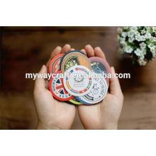 best selling round paper sticker label