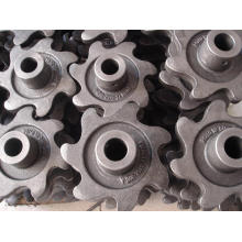Liga de Alumínio Die Casting Gear Wheel Parts