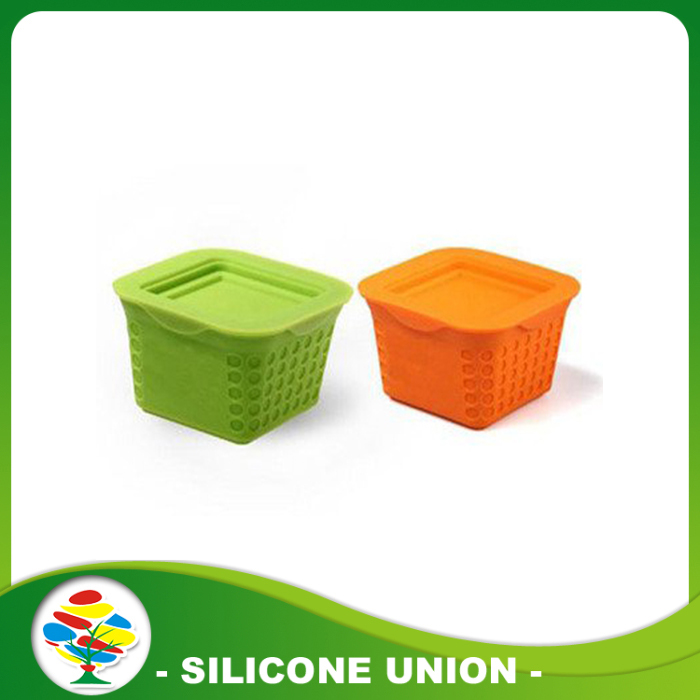 silicone pet food basket
