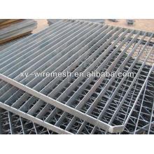 Rejilla de acero galvanizado de la hoja de acero antideslizante / rejilla de la barra de anping