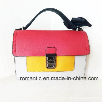 Moda moda lazer mulheres PU bolsas com renda (NMDK-060202)