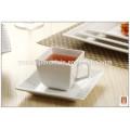 Hochwertige quadratische Form Großhandel Geschirr Keramik Abendessen gesetzt