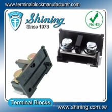 TE-200 600V 200A M10 parafuso DIN Rail Surface Mount Terminal Board