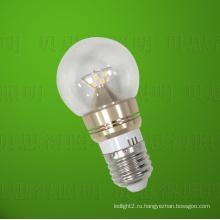 Литой алюминий Золотой светодиодный свет лампы