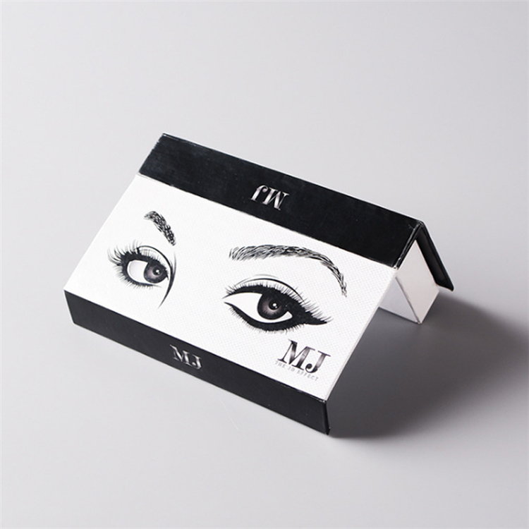 Custom Eyelash Adhesive Coated Paper Packing Box