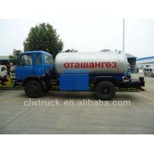 Fuente de fábrica Dongfeng 15m3 precios del cilindro del gas del lpg, 4 * 2 camión del lpg
