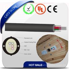 Câble de fibre optique d'intérieur de la structure sèche de distribution