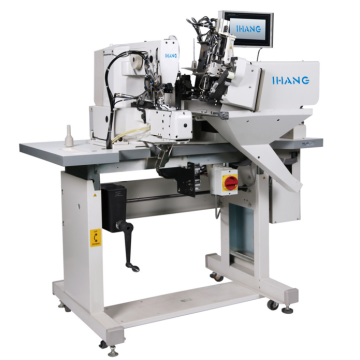 Automatic 2 Needle Belt Loop Melampirkan Mesin Jahit