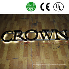 Professional Manufacturer LED Back Lit Advertising Letter Signs Outdoor
