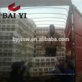 Caixão de galinha ao vivo de plástico Cachoeira de transporte de aves de capoeira