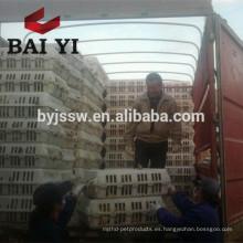Caja de pollo en vivo de plástico Caja de transporte de aves de corral