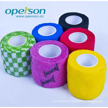 Ce Approved Self Cohesive Bandage with Various Colors
