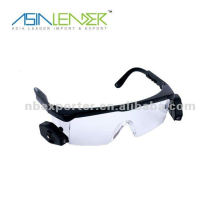 LED light book reading glasses with light