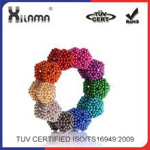 8 colores de neodimio de 5mm Super bola